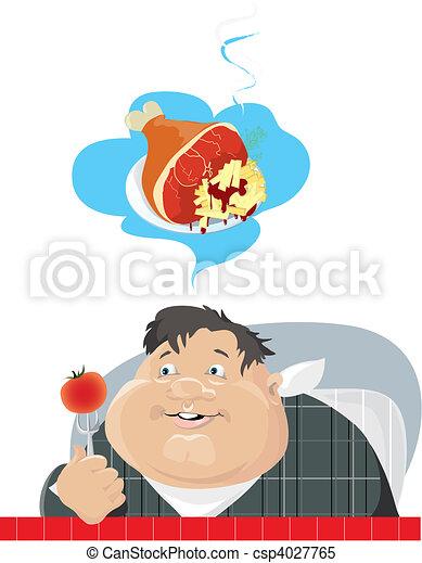 Dieting - csp4027765