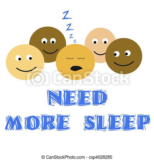 sleep deprivation - csp4028285