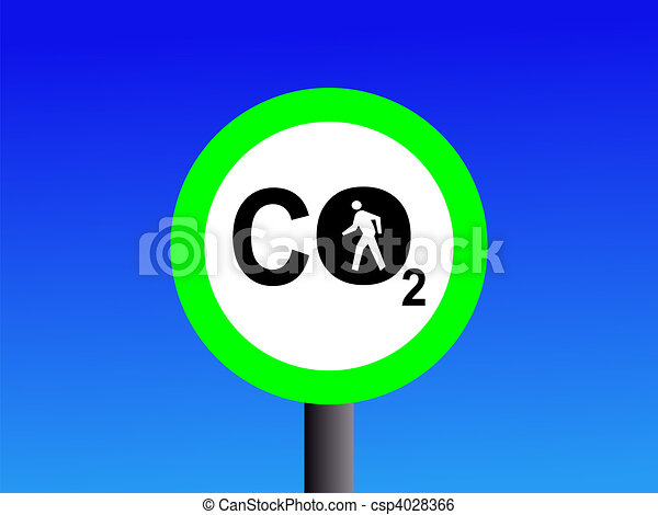 walking low CO2 emissions - csp4028366
