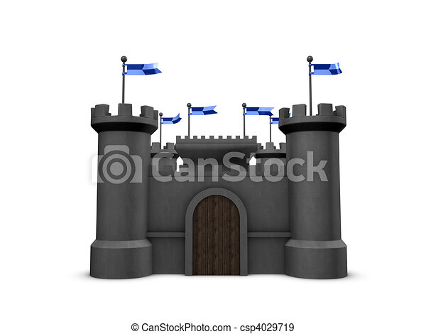 Castle - csp4029719