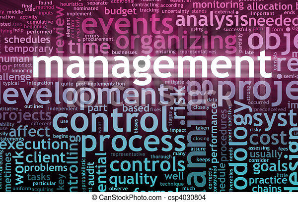 Management Concept - csp4030804