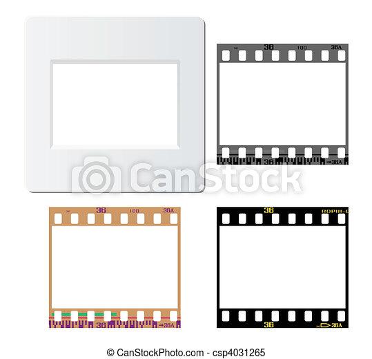 photos film frames - csp4031265