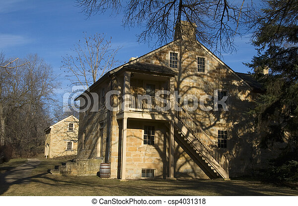 Henry Hastings Sibley House - csp4031318