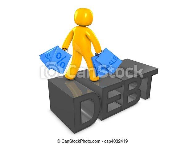 Spending and debt - csp4032419
