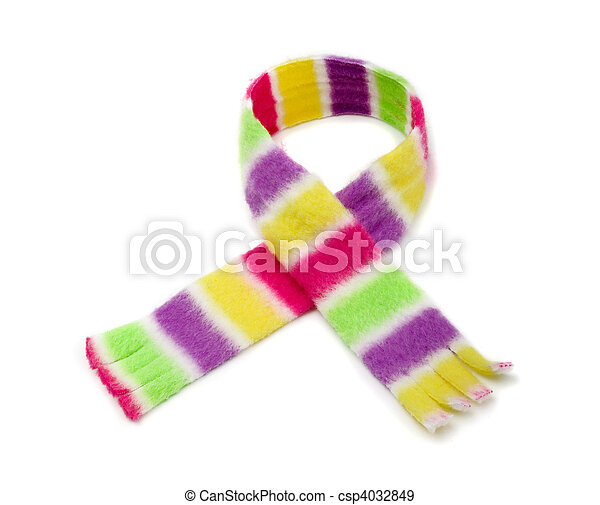 Striped scarf - csp4032849