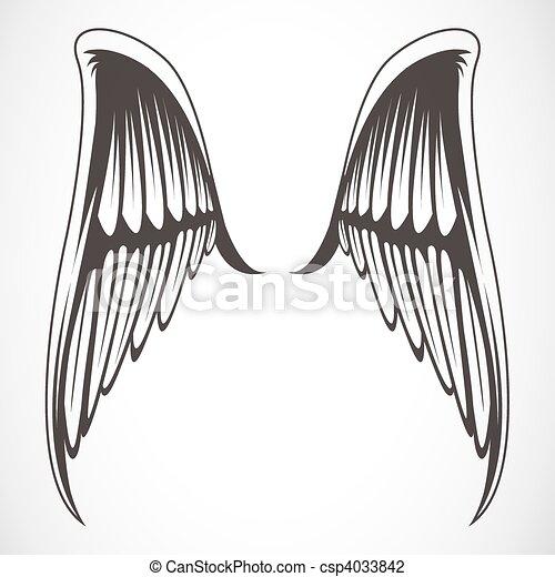 Vector Wings - csp4033842