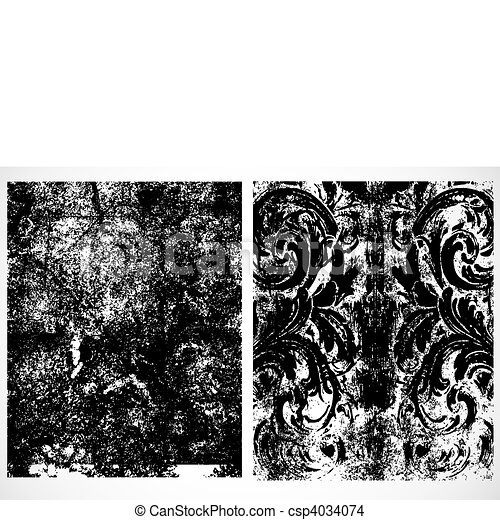 Vector Distressed Patterns - csp4034074