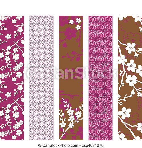 Vector Seamless Pattern Arrangement - csp4034078