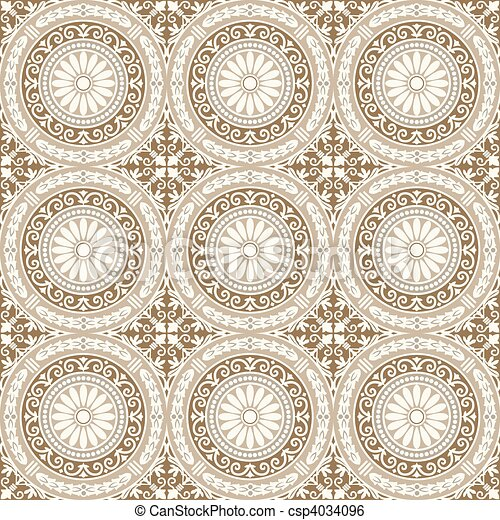 Vector Seamless Tile Pattern - csp4034096