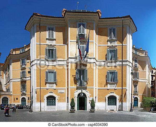 Italian Government - csp4034390