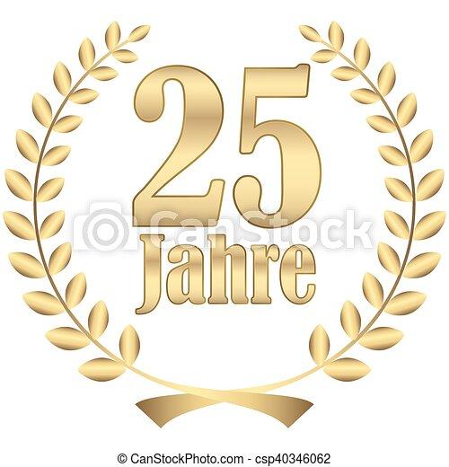 laurel wreath for jubilee - csp40346062