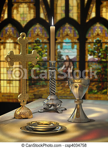 Lord's Supper - csp4034758