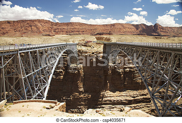 Twin Bridges - csp4035671
