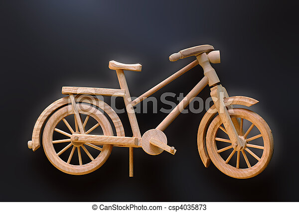 Bicycle model - csp4035873
