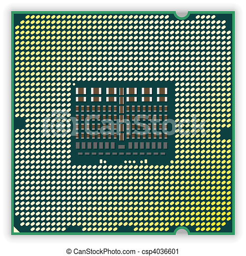 Processor bottom - csp4036601