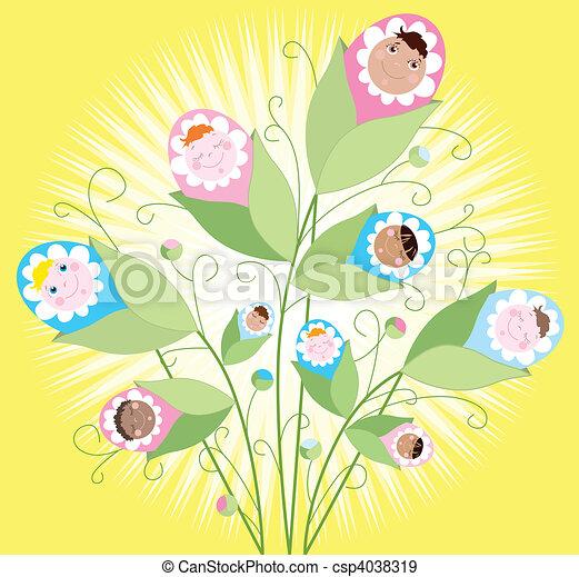 Babies grow - csp4038319