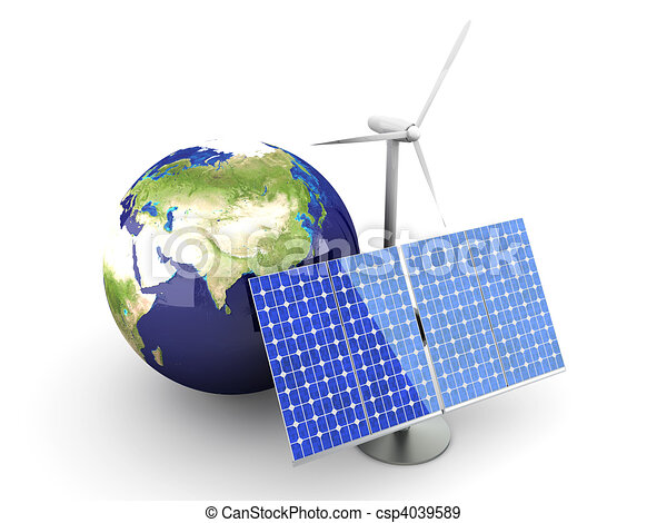 Alternative Energy - Asia - csp4039589