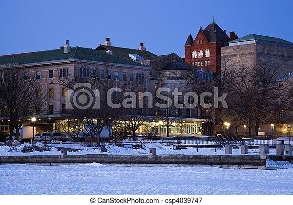 Historic Buildings - University of Wisconsin - csp4039747