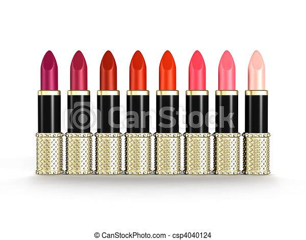 Palette of Luxury Lipsticks - csp4040124