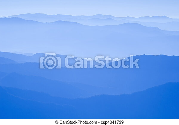 Blue Ridge Mountains - csp4041739