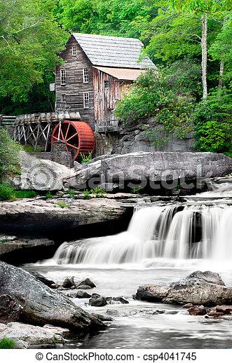 Glade Creek Grist Mill - csp4041745