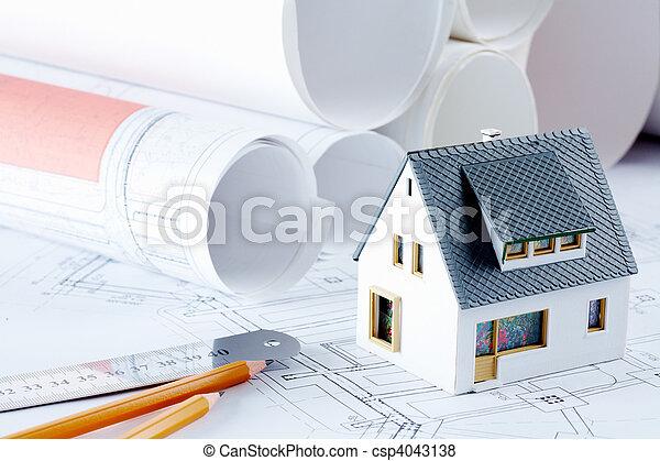 Plot of new house - csp4043138