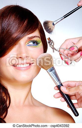 At beautician?s - csp4043392