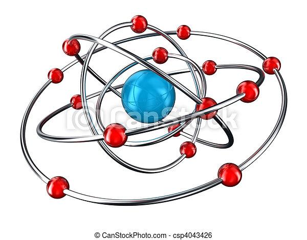 Atom - csp4043426