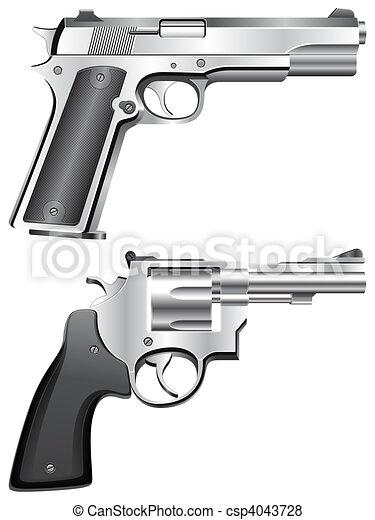 Guns. - csp4043728