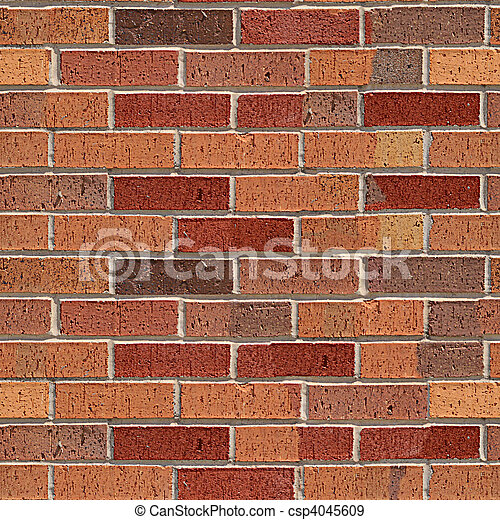 Brick seamless pattern. - csp4045609