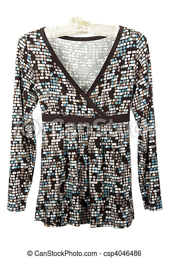 Feminine blouse - csp4046486