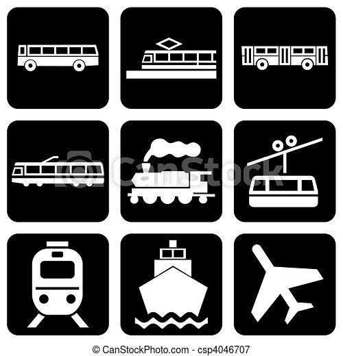 icons transport - csp4046707