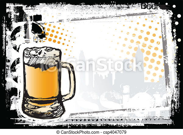 beer fest background - csp4047079