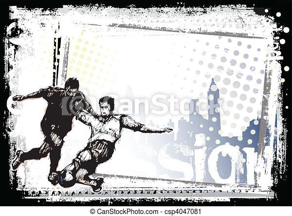 soccer background 1 - csp4047081