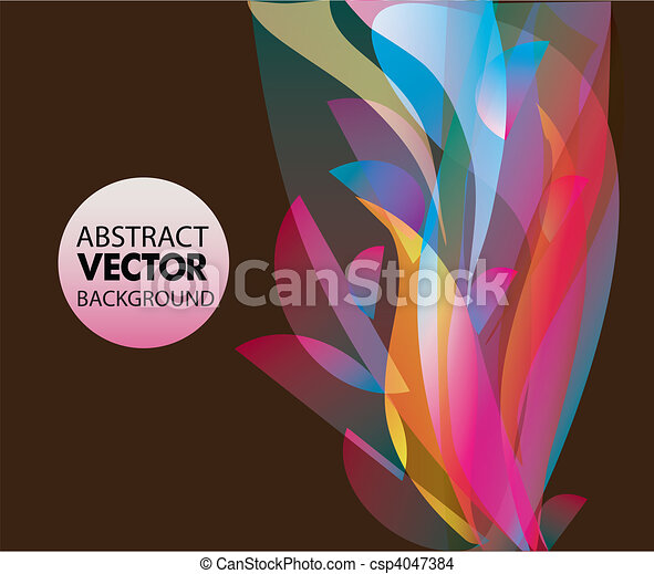 Vector abstract background  - csp4047384