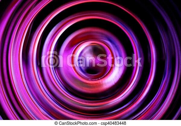 oscuridad, círculos, defocused - csp40483448