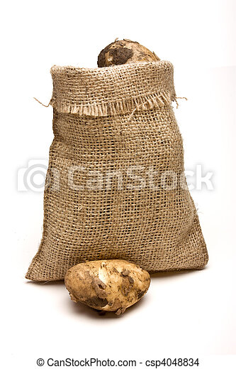 Sack of Spuds - csp4048834