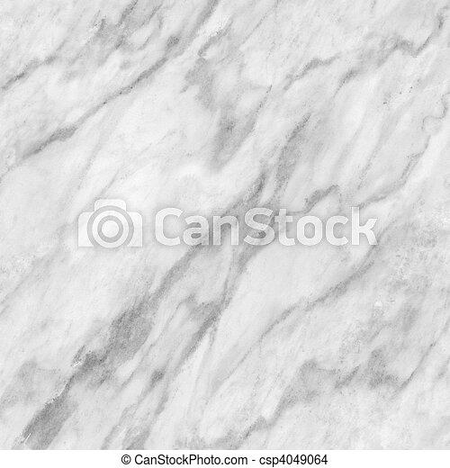 White marble - csp4049064