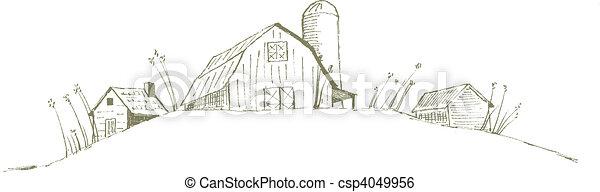 Old Barn - csp4049956