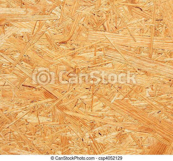 Yellow wood chipboard as background - csp4052129