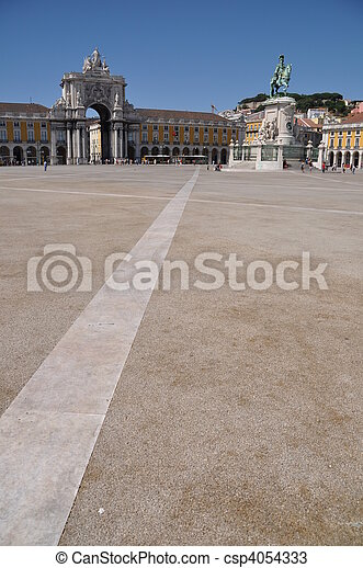 Commerce Square in Lisbon