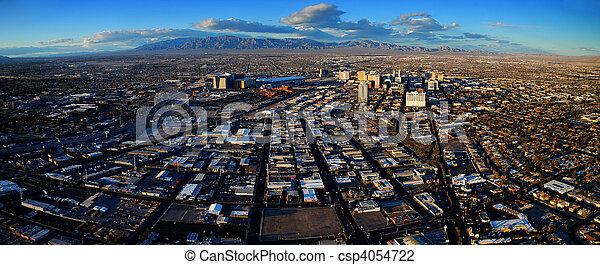 Las Vegas Aerial Panorama - csp4054722