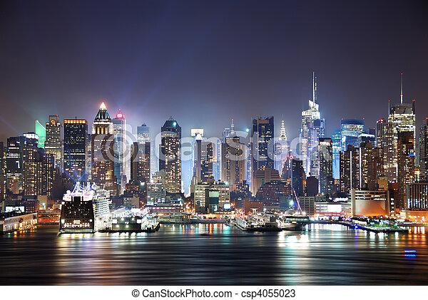 New York City Times Square - csp4055023