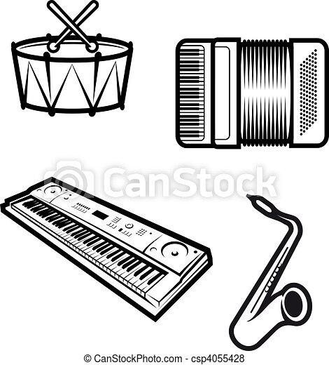 Music instruments - csp4055428
