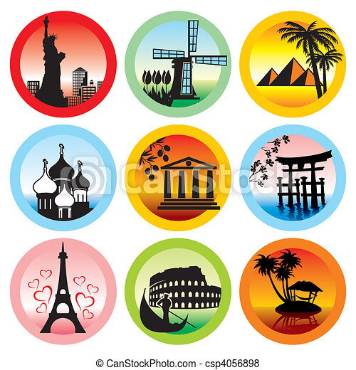 travel landmarks - csp4056898
