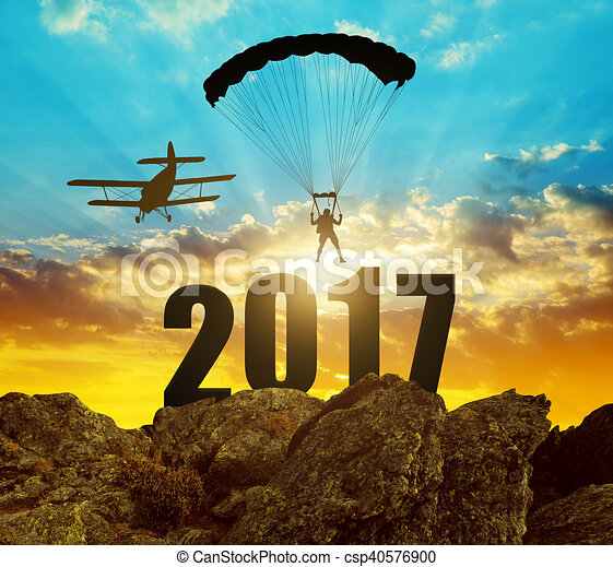 Concept New Year 2017 - csp40576900