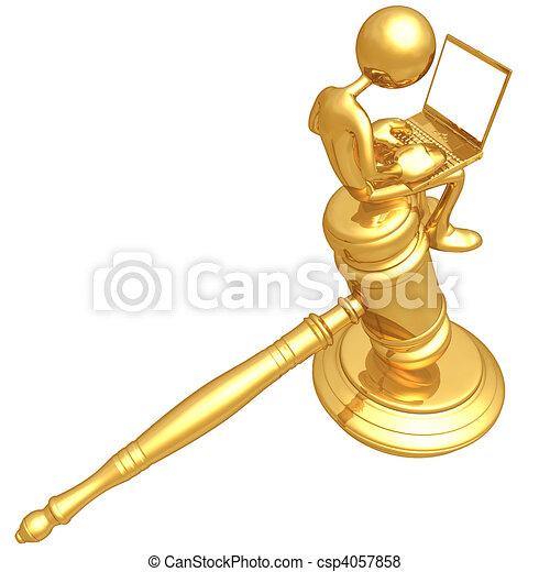 Online Law - csp4057858