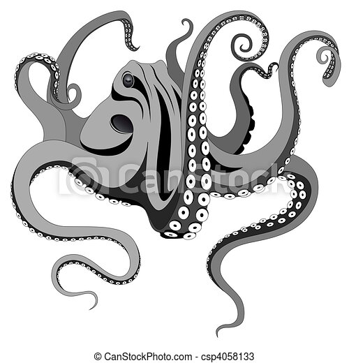 Free Octopus Drawings Octopus Tattoo Drawings