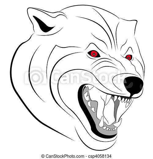 Wolf - csp4058134