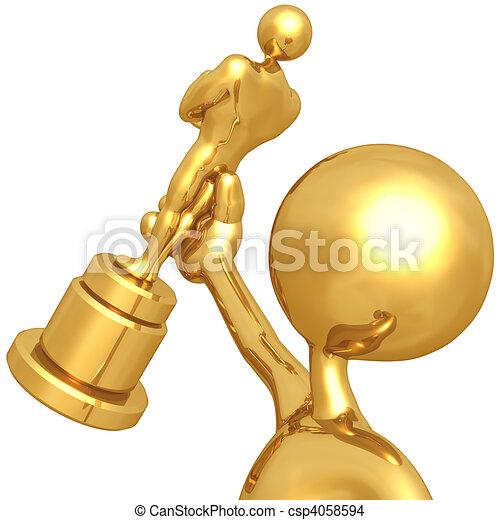Film Award - csp4058594
